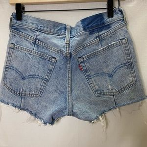 Levi's Shorts - Levis altered 501 button fly denim shorts
